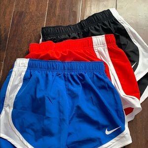 Nike dri-fit running bundle short. XS